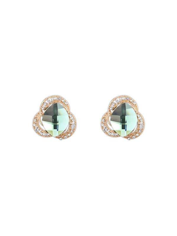 Oeste Three Flores Bohemia Customs Stud Venda imperdível Earrings