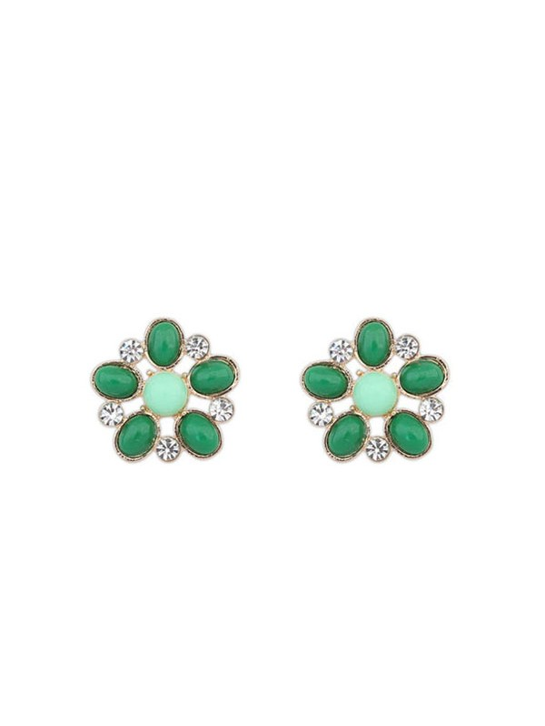 Oeste Bohemia Big Flores Style Stud Venda imperdível Earrings